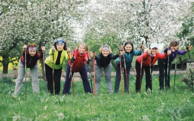 7 lekcí Začínáme s Nordic Walking