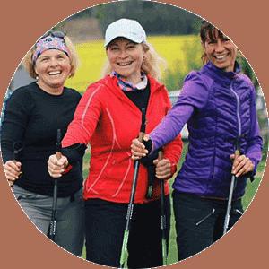 Nordic Walking skupinová lekce