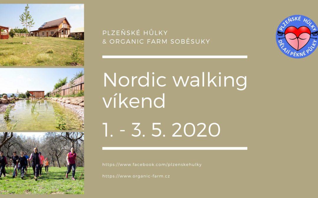Nordic walking víkend v Soběsukách 2020
