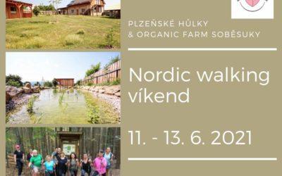 Nordic walking víkend v Soběsukách 11.–13. 6. 2021